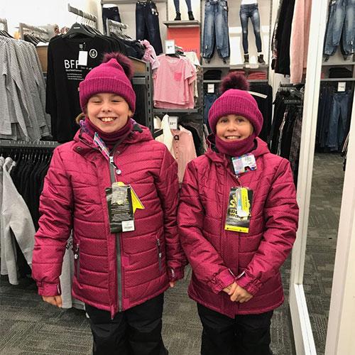 habillement des enfants